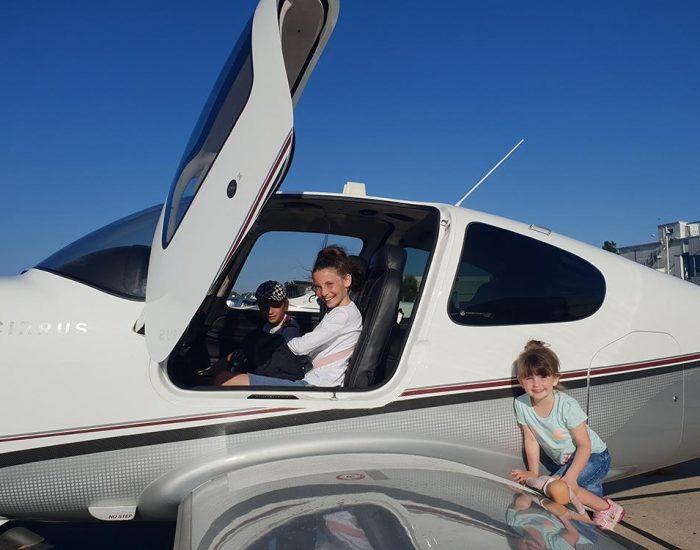 טיסה במטוס פרטי!