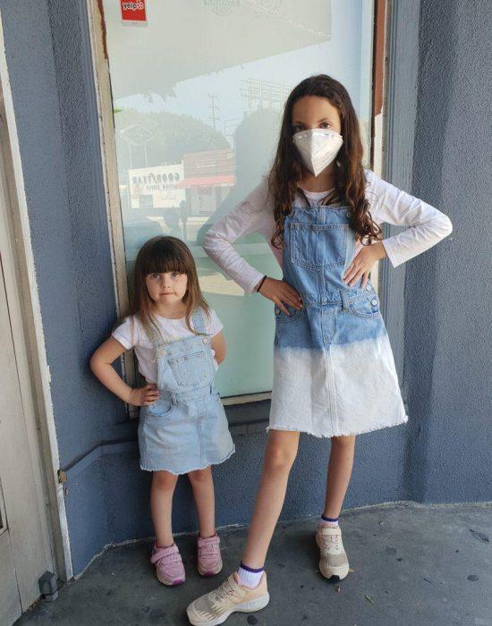גם למסעדה הולכים עם מסיכה -קורונה טיים בלוס אנג'לס