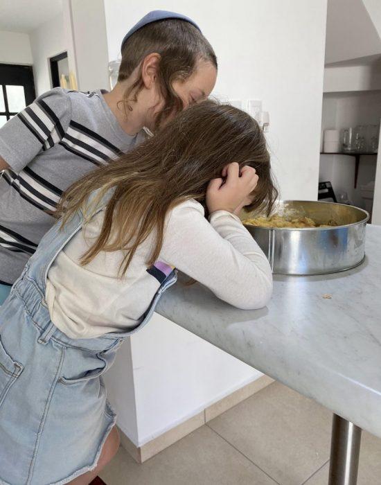 עם ילדים במטבח...