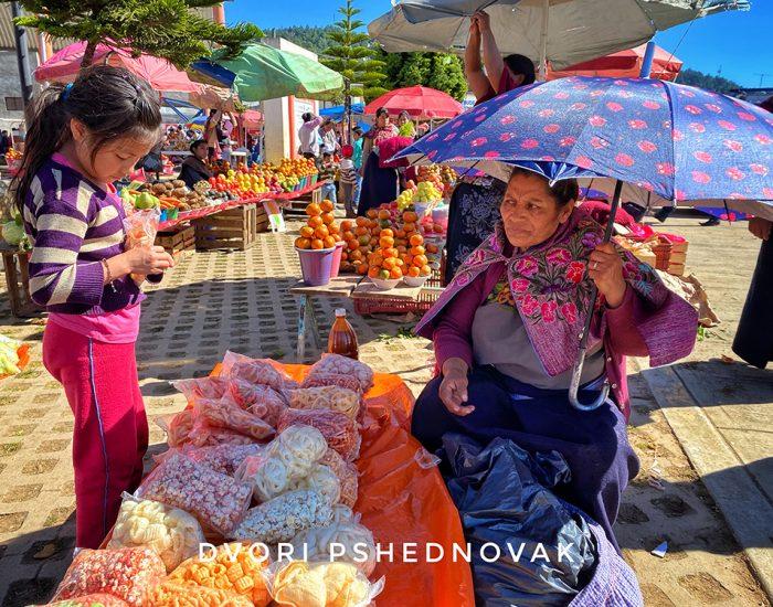 שוק בכפר נאציג