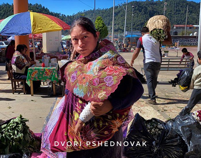 שוק של שבט הזינקנטן בכפר נאציג
