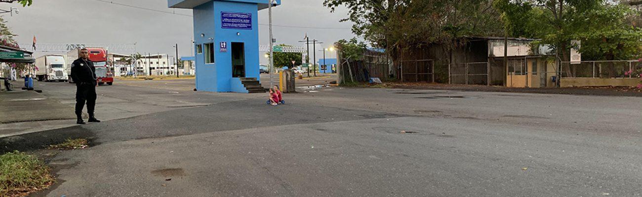 5:30 בבוקר הצד הניקרגואי בגבול