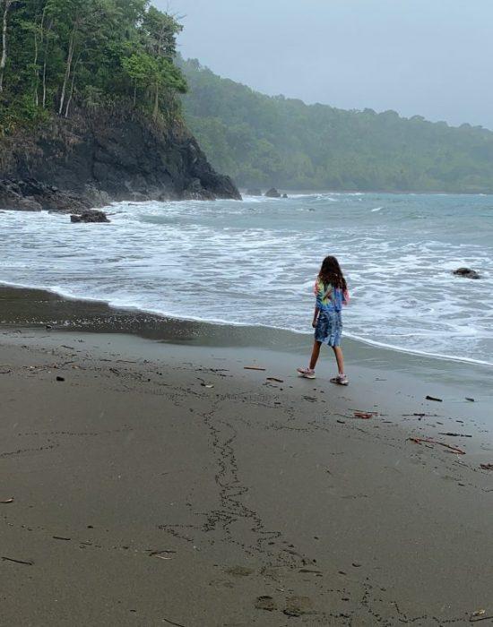 ולאורך החוף
