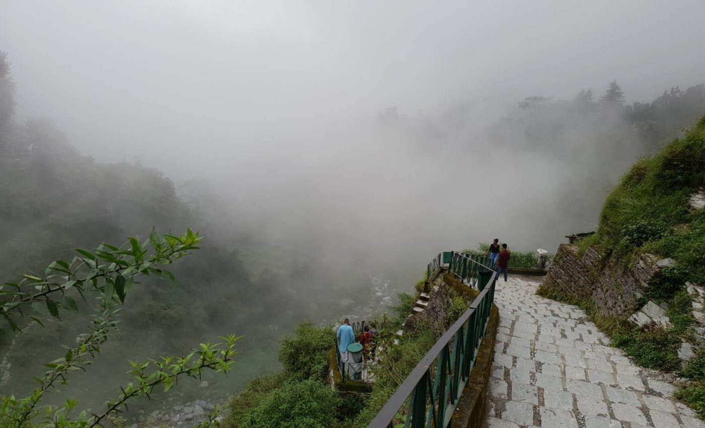 הנוף המדהים בתוך העננים