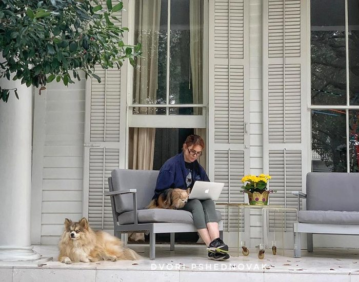מרפסות הבתים בניו אורלינס