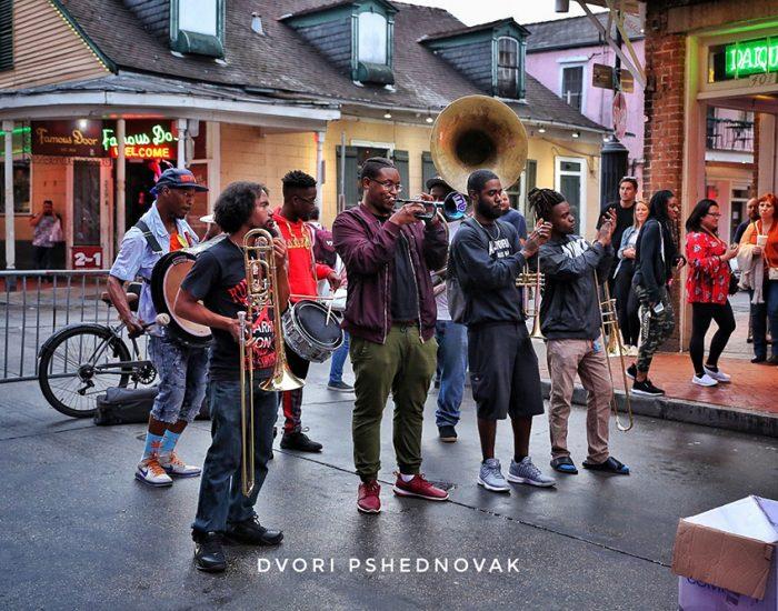 מוזיקה ברובע הצרפתי בני אורלינס