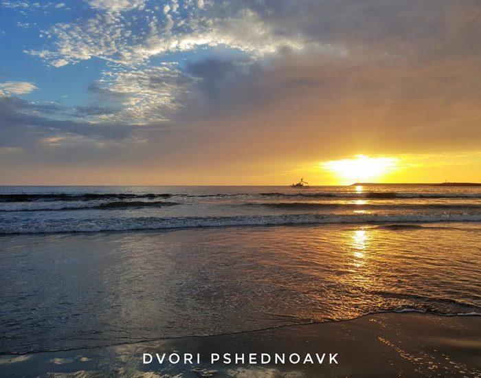 sunset ensenada beach baja clifornia mexico